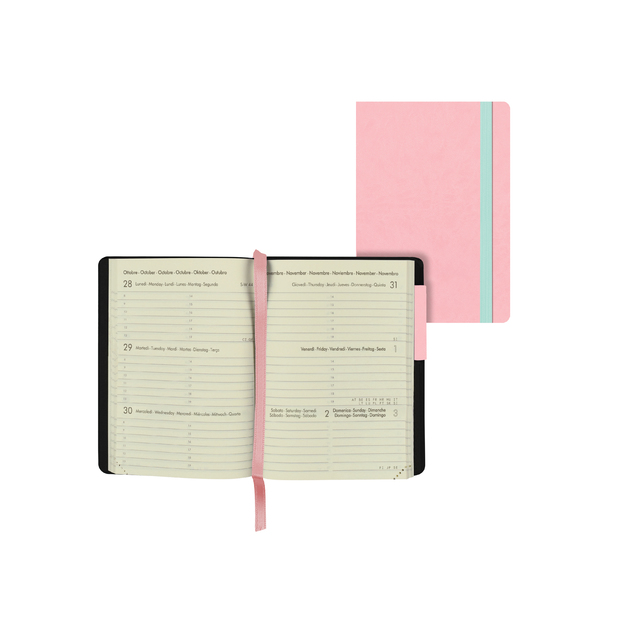 Legami: Mini Weekly 12 Month 2021 Diary - Pink (8 x 11cm)