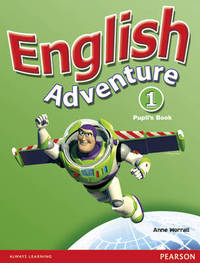 English Adventure Level 1 Pupils Book plus Picture Cards by Anne Worrall image