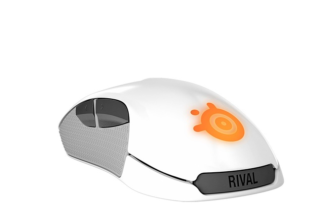 SteelSeries Rival 300 - White for PC Games