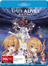 Date A Live II - Complete Series Two on Blu-ray image