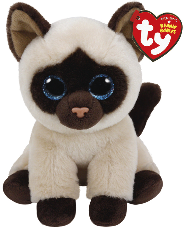 Ty Beanie Babies: Jaden Siamese Cat - Small Plush