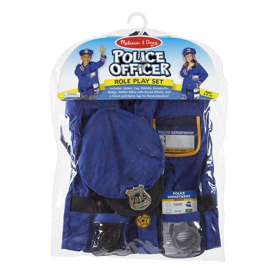 Melissa & Doug: Police Officer Costume Role Play Set image