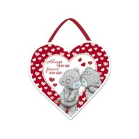 Me To You Valentines - Always & Forever Heart Plaque