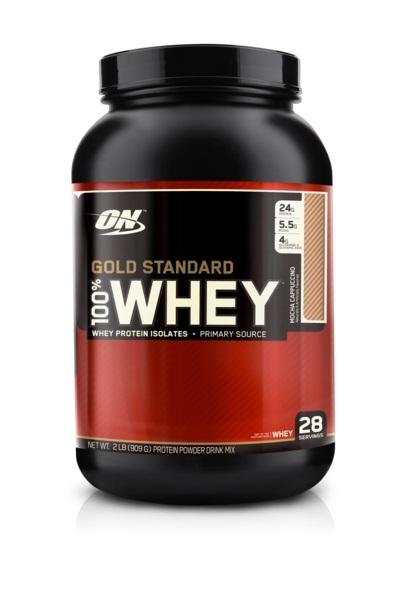 Optimum Nutrition Gold Standard 100% Whey - Mocha Cappuccino (907g) image