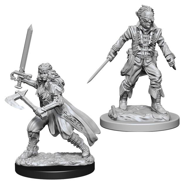 D&D Nolzur's Marvelous: Unpainted Miniatures - Vampire Hunters