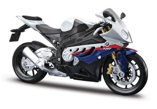 Maisto: Assembly Line Motorcycle - BMW S1000 - 1:12 Scale Kitset