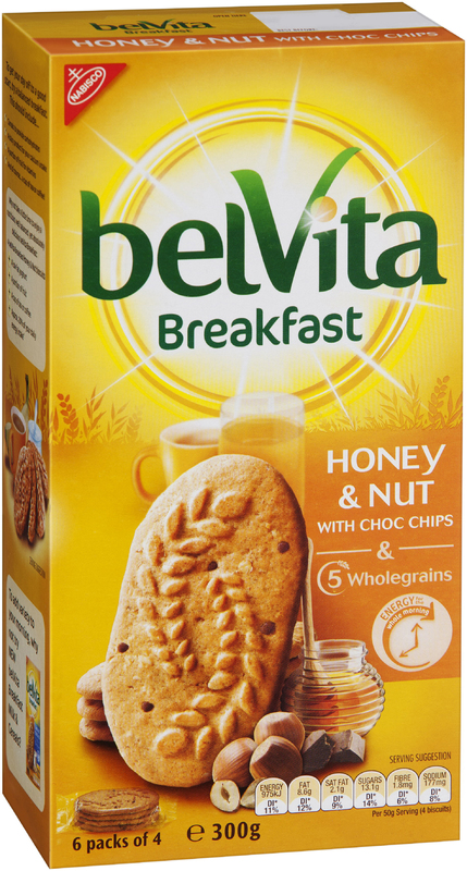 Belvita Breakfast Honey & Nut (300g)