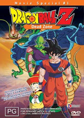 Dragon Ball Z - Movie 01 - Dead Zone on DVD