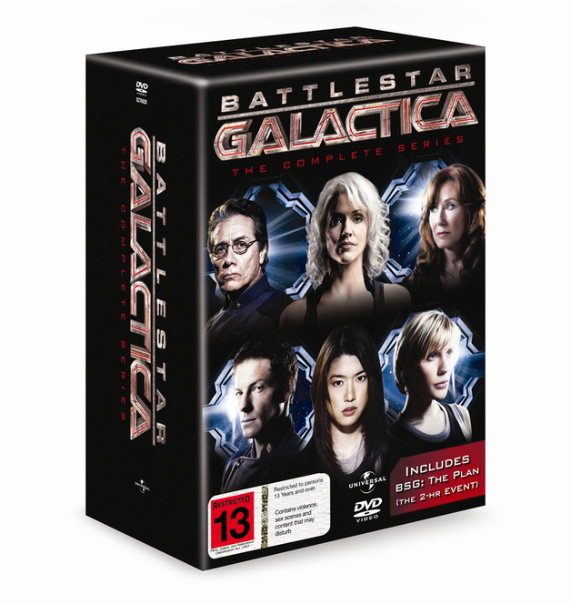 Battlestar Galactica Complete Collection on DVD