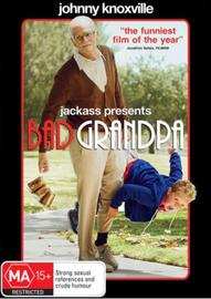 Jackass Presents: Bad Grandpa on DVD image