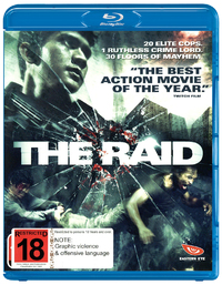 The Raid on Blu-ray image