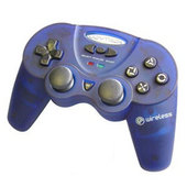 Joytech Wireless Analog Controller - Blue for PlayStation 2