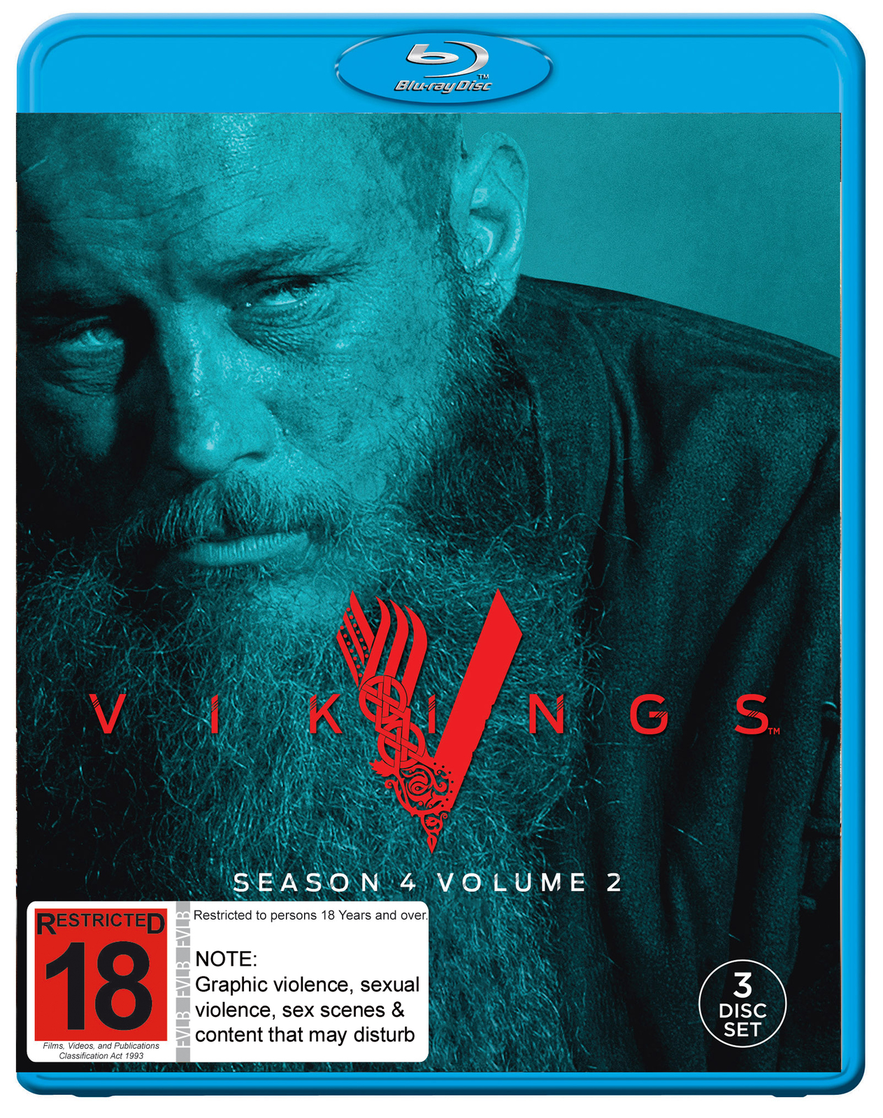 Vikings: Season 4 - Volume 2 on Blu-ray image