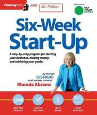Six-Week Startup by Rhonda Abrams image