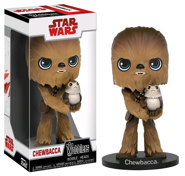 Star Wars: The Last Jedi - Chewbacca Wobbler Vinyl Figure
