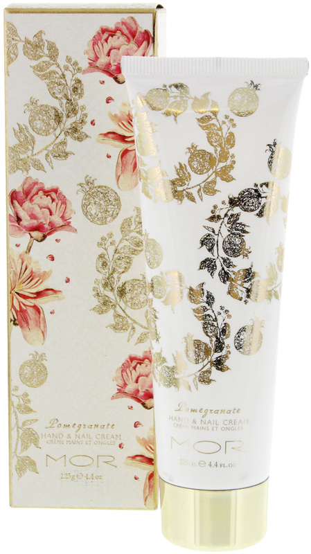 MOR Pomegranate Collection Hand & Nail Cream (125ml)