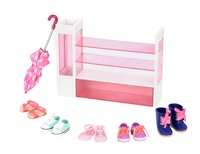 Our Generation: Deluxe Accessory Set - Doll Shoe Rack