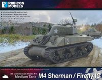 Rubicon 1/56 M4 Sherman / Firefly IC