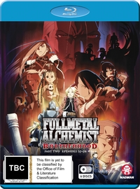 Fullmetal Alchemist: Brotherhood - Part 2 (Eps 36-64 + Ova) on Blu-ray