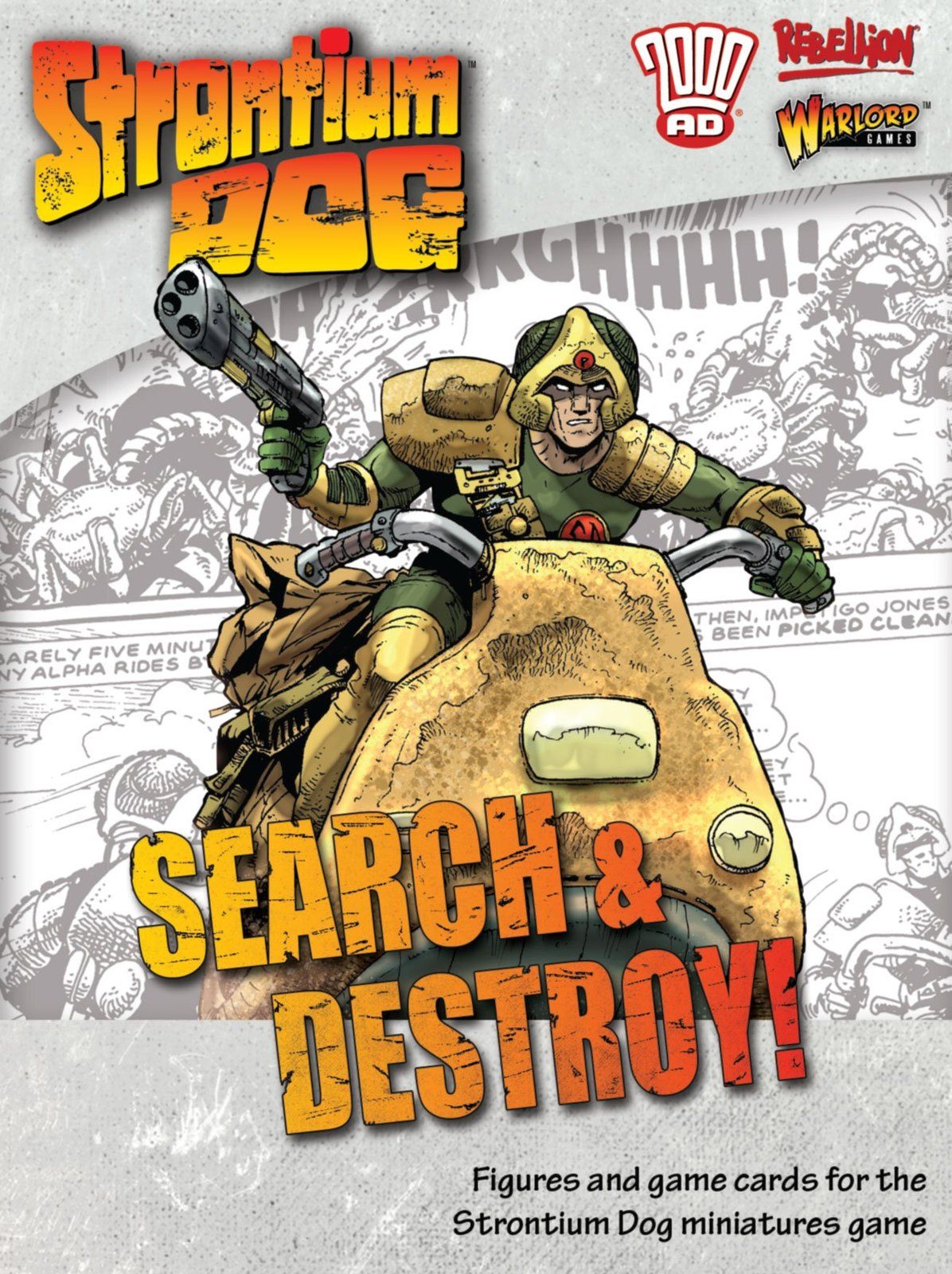 Strontium Dog: Search & Destroy! image