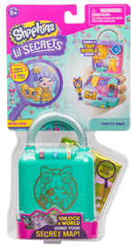Shopkins: Little Secrets Mini Playset - Pretty Paws