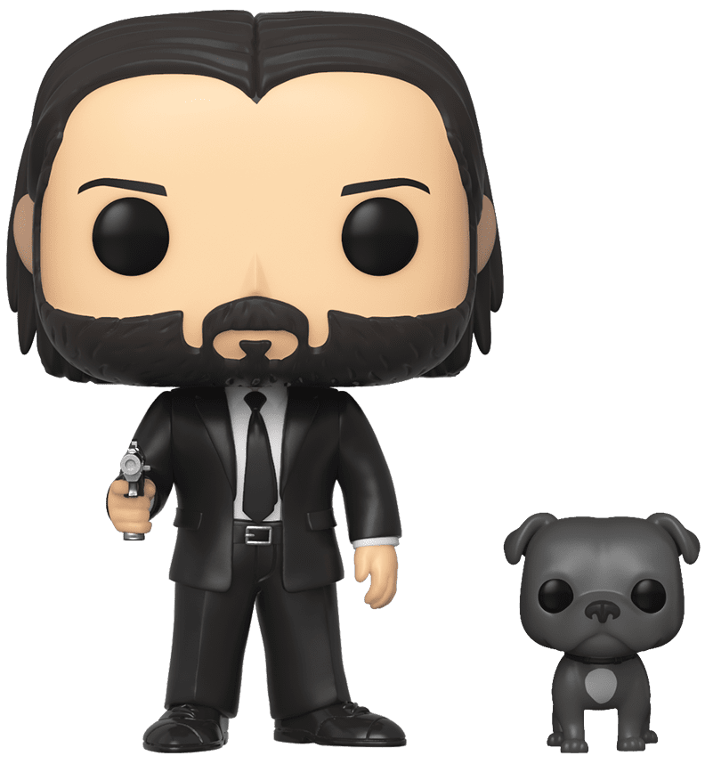 John Wick (with Dog) - Pop! Vinyl Figure image