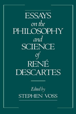 Essays on the Philosophy and Science of Rene Descartes image