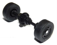 Scalextric Rear Axle Assembly for Batman Police 1/32 Slot Car