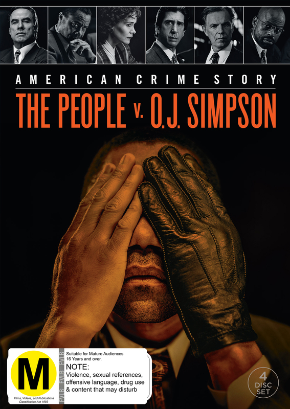 The People V. OJ Simpson: American Crime Story on DVD