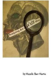 Analyzing Art the Write Way by Mozelle Barr Martin image