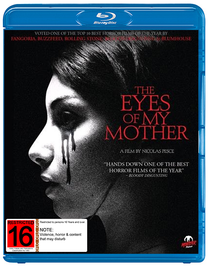 The Eyes of My Mother on Blu-ray