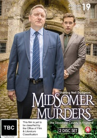 Midsomer Murders - Season 19: Part 1 on DVD