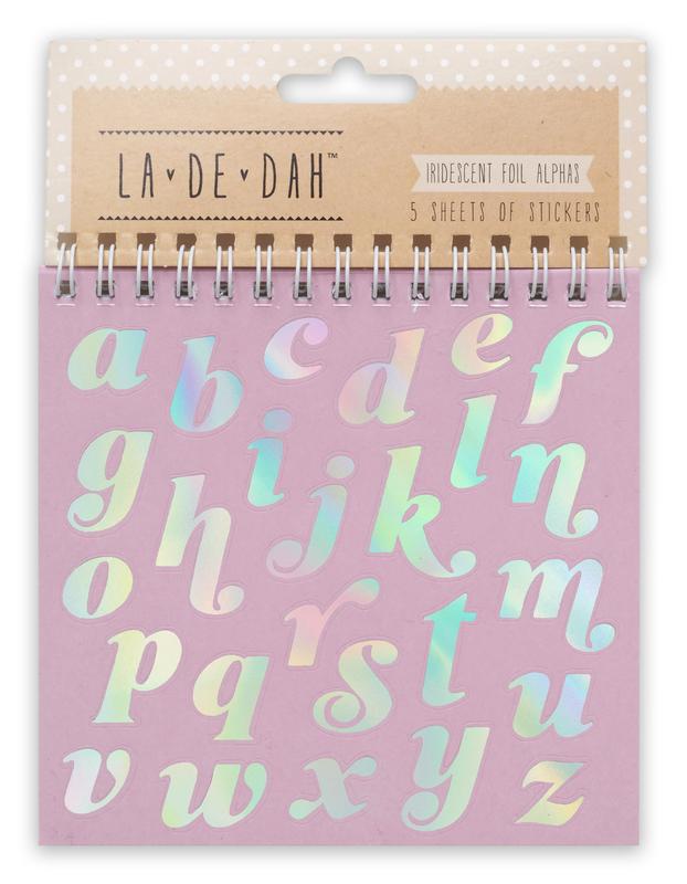 La De Dah: Good Times Sticker Flipbook - Alpha