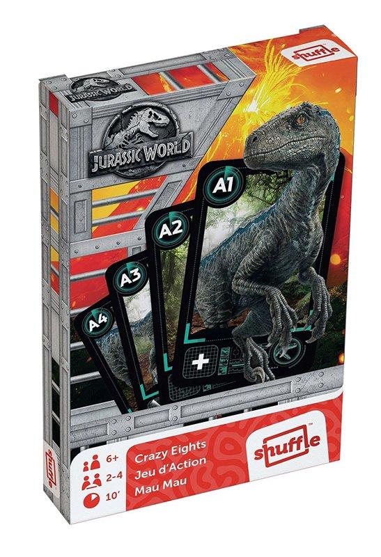Jurassic World Shuffle: Crazy Eights - Card Game