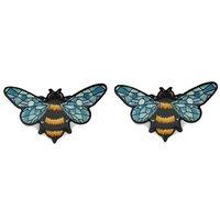 Crystal Queen Bee Stud Earrings