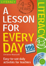 Literacy Ages 4-5 by Christine Moorcroft image