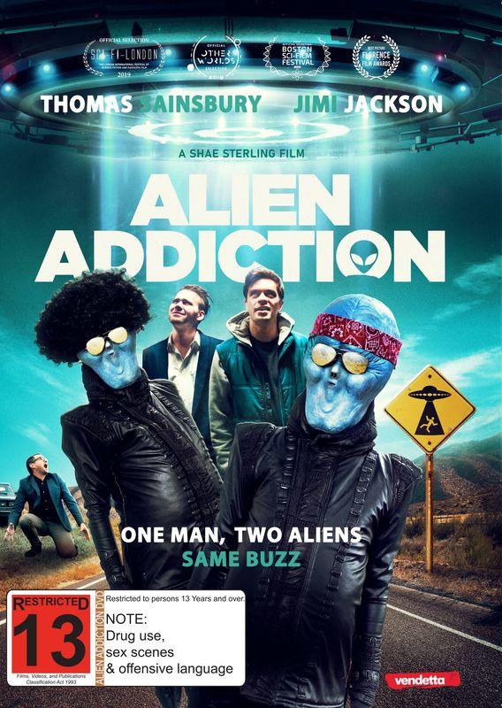 Alien Addiction on DVD