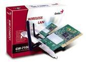 GENIUS WIRELESS PCI LAN CARD 11MBPS