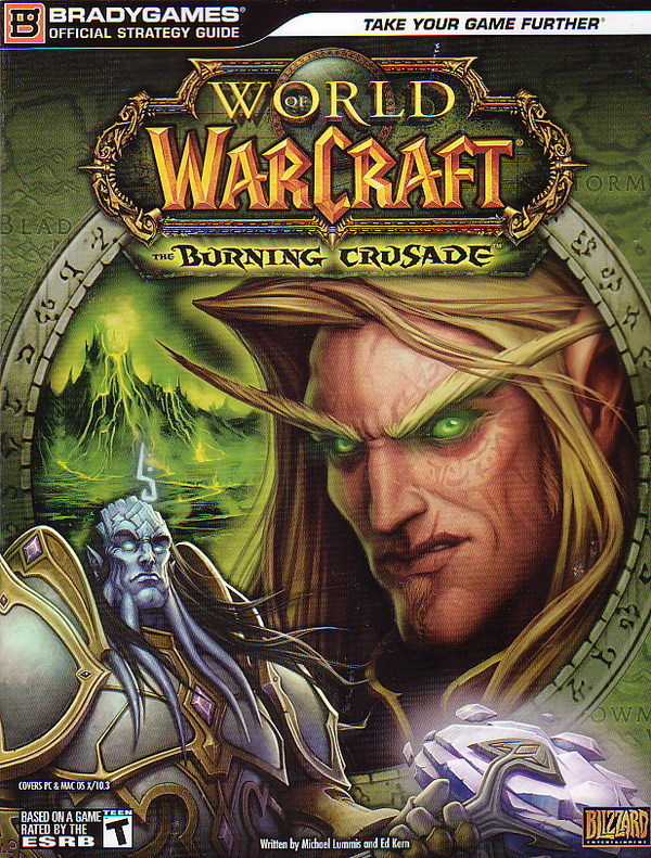 World of Warcraft Burning Crusade Guidebook for PC Games