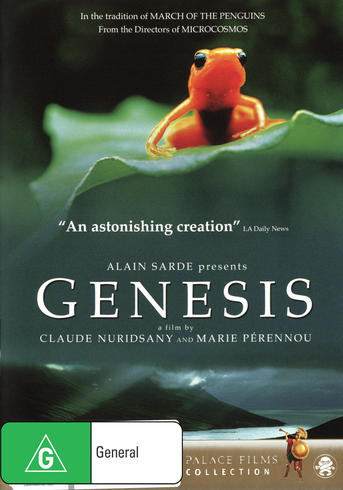 Genesis on DVD image