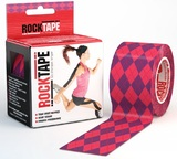 RockTape Active Recovery Series - Pink Argyle (5cm x 5m)