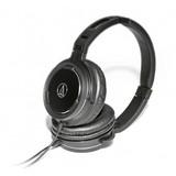 Audio-Technica ATH-WS55i Over-Ear Headphones (Black)