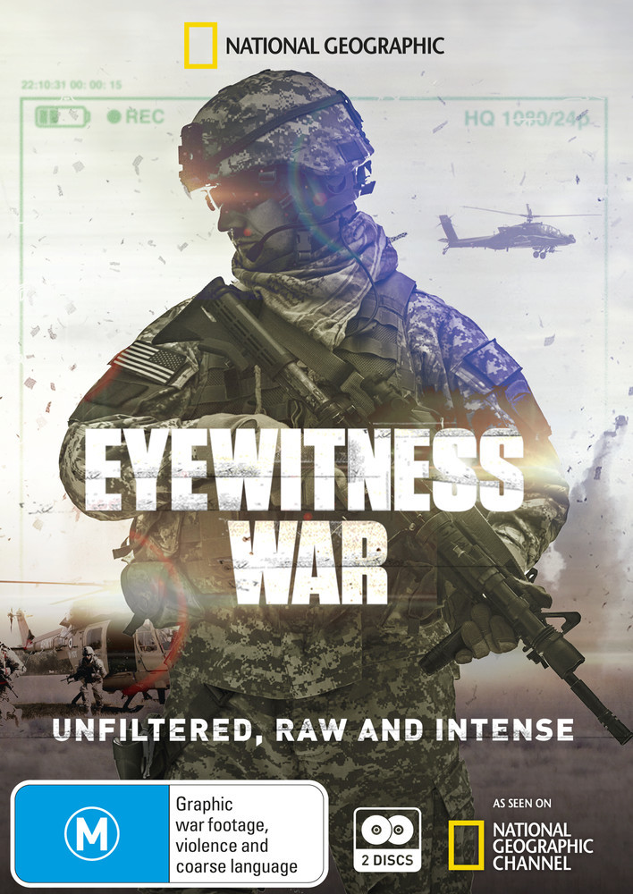 Eyewitness War - Season 1 on DVD image