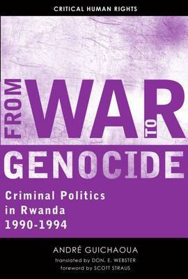 From War to Genocide by Andre Guichaoua