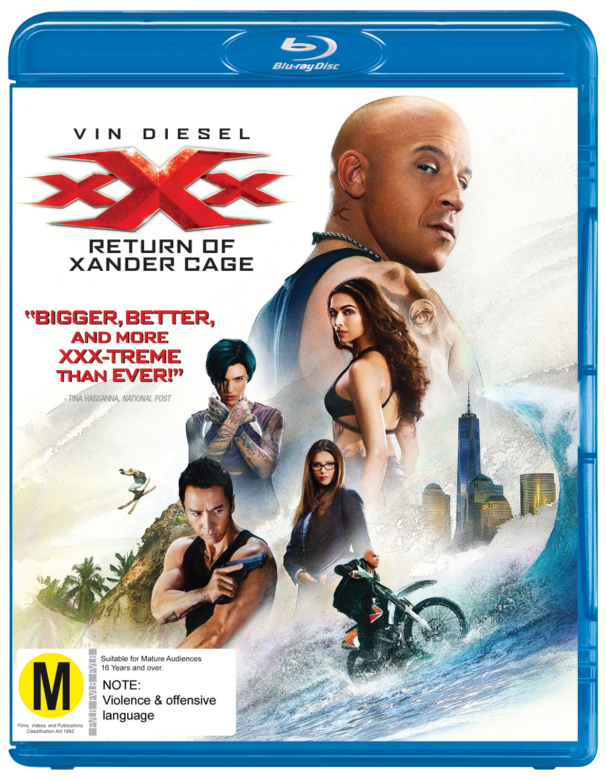 xXx: The Return Of Xander Cage on Blu-ray image