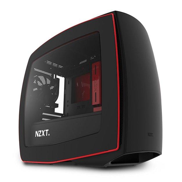 NZXT Manta Mini-ITX Case - Black/Red