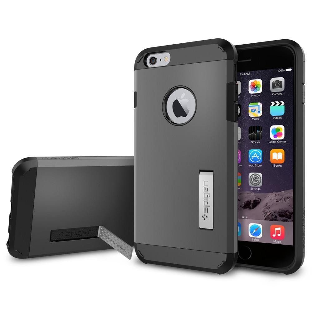 Spigen: iPhone 6s Plus - Tough Armour Case (Black) image