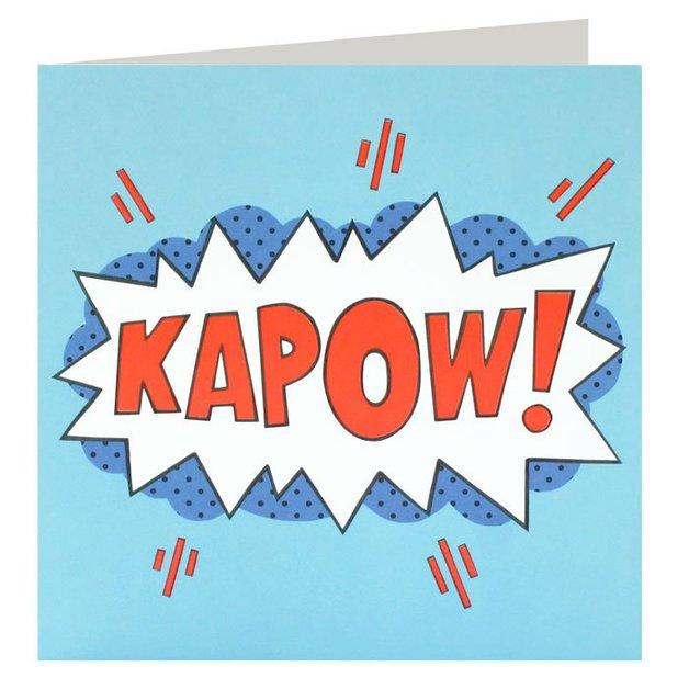 James Ellis: Kapow! - Greeting Card