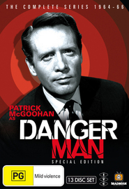 Danger Man - Special Edition: The Complete 1964-66 Series (13 Disc Box Set) on DVD