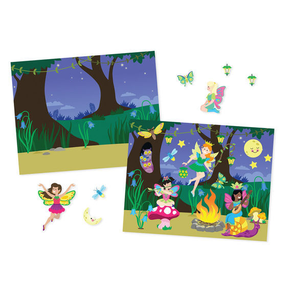 Melissa & Doug: Fairies Reusable Sticker Pad
